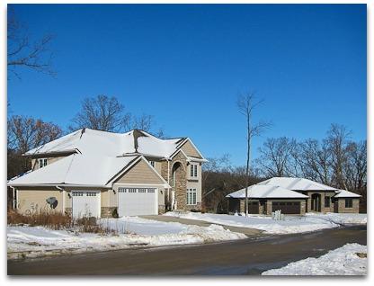 Homes in the Cedar Springs Neighborhood
