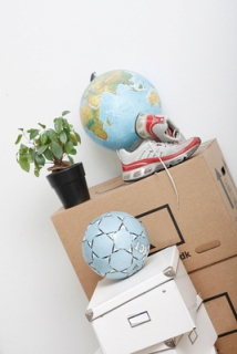 Start packing up stuff before putting a house on the market